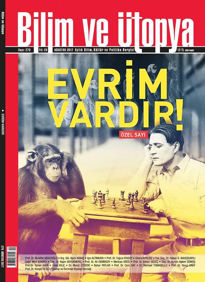 Bilim ve Ütopya, Abonelik, Bilim, Kültür, Politika, Dergi, Magazine, bilim, evrim, darwin