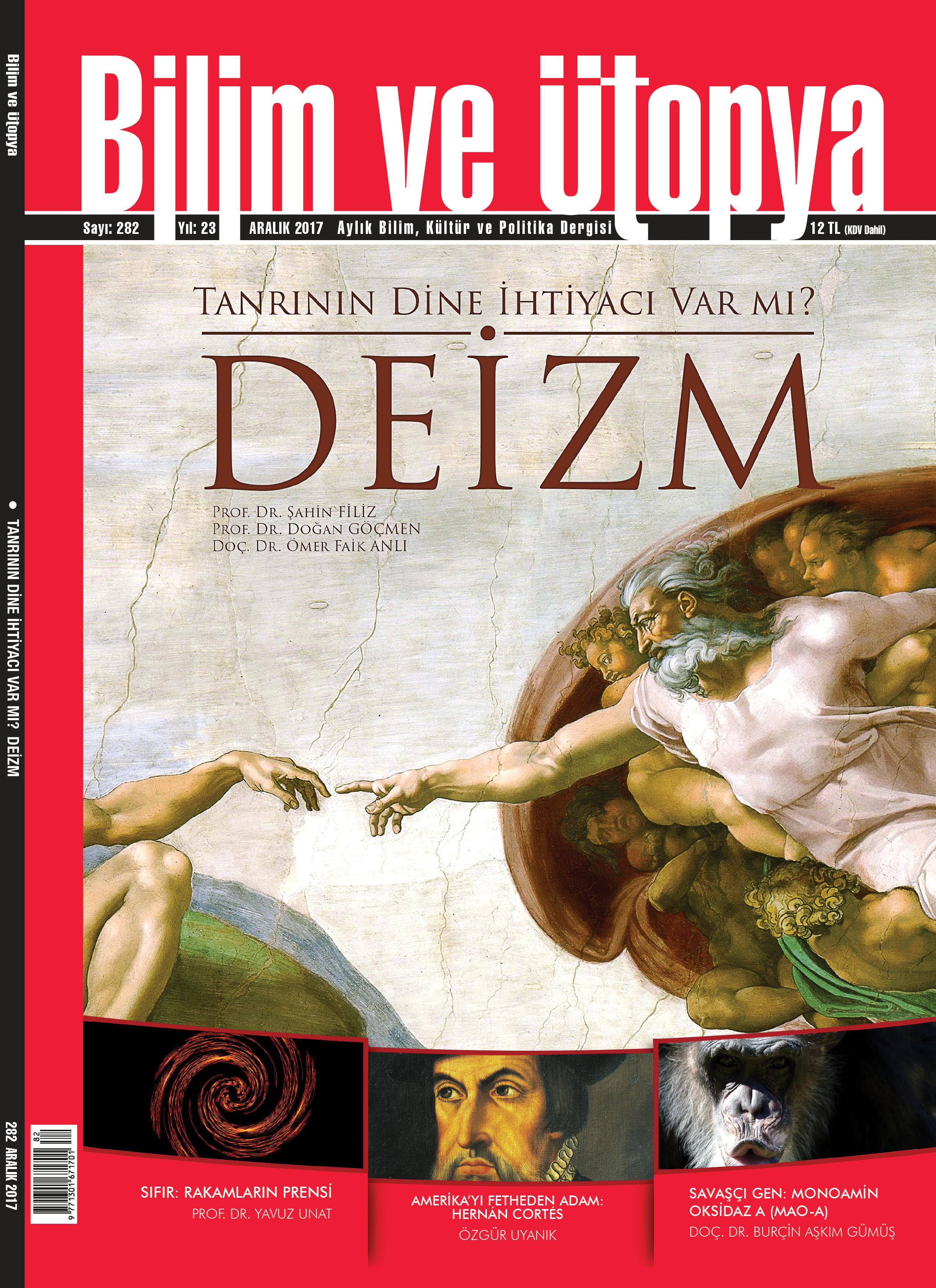 bilim ve utopya, deizm, prof. dr. şahin filiz, doç. dr ömer faik anlı, prof. dr. doğan göçmen