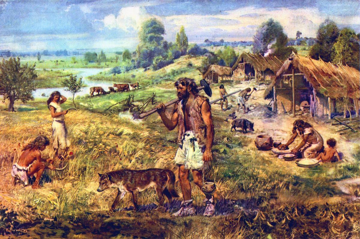insanlik tarihinde bir sicrama neolitik